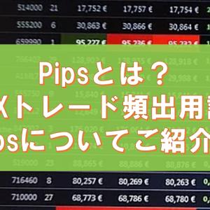 Pipsとは何か?FXトレードの頻出用語|ゼロからはじめるFXトレード