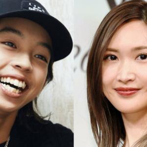 【悲報】紗栄子(34)さん、未成年のアーティスト YOSHI(17)と付き合っていた