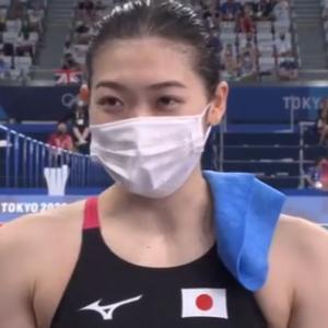 【悲報】池江璃花子さんの東京五輪、メダル無しで終了