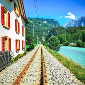 【スイスのパワースポット】アーレ峡谷へのアクセス方法とみどころ