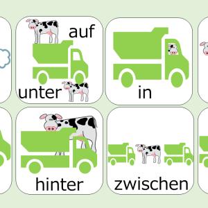 【超重要】図で見て覚える!ドイツ語 3格(Dat)4格(Akk)支配の前置詞