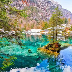 【スイス必見観光地】ブラウ湖へのアクセス方法と見どころ