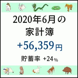 2020年6月の収支