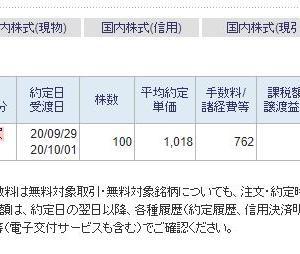株式投資 9月29日のデイトレード結果 ~ しょうのへや~