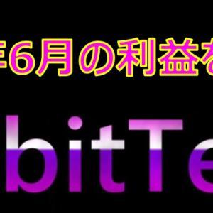 QubitTechの2021年6月の利益を大公開!月利25%は果たして本当だったのか? キュービテック