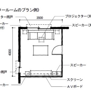 自宅でできるシアタールームの設計方法