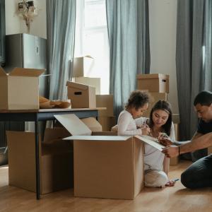 家族が増えたことによるお引越し先を検討中