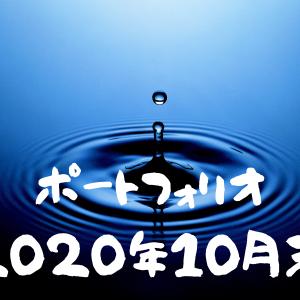 【投資実績】育児パパの2020年10月のポートフォリオを公開します。