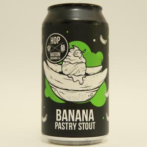 「ホップネーション バナナ ペストリー スタウト」チョコバナナ風味の甘〜いスタウト