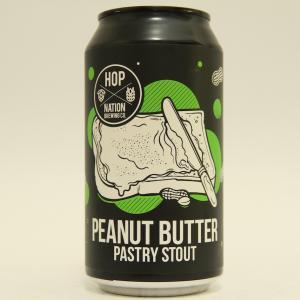 「ホップネーション ピーナツバター ペストリー スタウト」濃厚だけどピーナツバターの香りはほとんど感じられない
