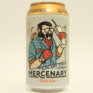 「オールイン ブリューイング マーセナリー」ホップとモルトの旨味が絶妙にバランス良いビール