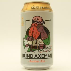「オールイン ブリューイング ブラインド アックスマン」バランスは良いが平べったい味わい
