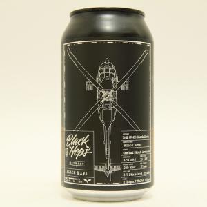 「ブラックホップス ブラックホーク」ローストモルト、ダークチョコ、エスプレッソの風味豊かな濃厚スタウト!