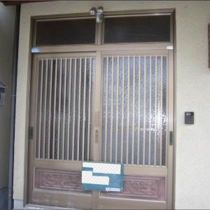玄関廻りの塗装