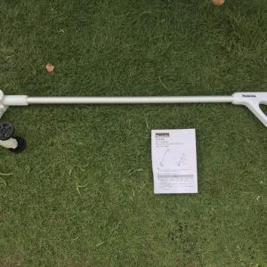 マキタ芝刈りバリカンにロングハンドルアタッチメントを付ける