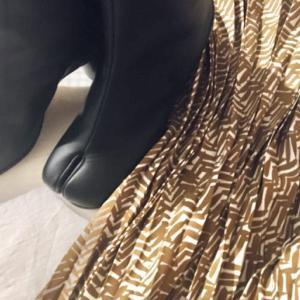 【マルジェラ足袋ブーツ×スカート】丈別コーディネート一覧