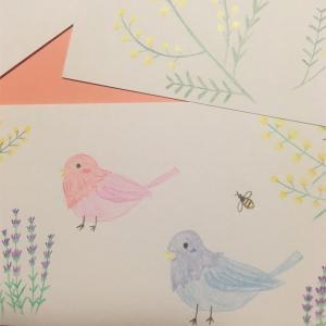 鳥とハーブ