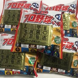カープ敗戦によるプロチ5袋買い‐なぜかまた第1弾‐