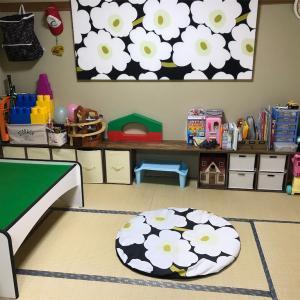 築35年3DKのマンション。子供の遊び部屋を公開。見せる収納で子供の玩具を片付けよう!