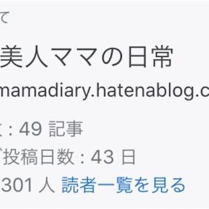 祝50記事目!読者登録数300人突破!