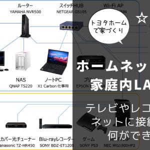 ホームネットワーク(家庭内LAN)とは|テレビやレコーダーをネットに接続すると何ができる?
