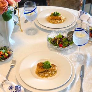 魚嫌いな主人も納得Greek Styleな魚の日♬