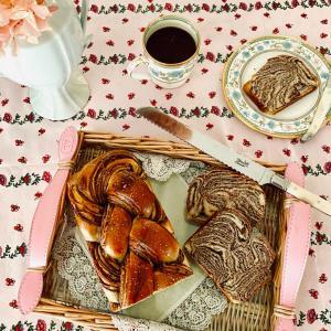 初挑戦♡朝を彩る美食パン