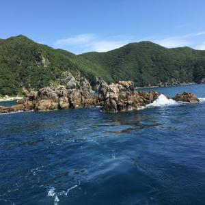 南方宙吊り石鯛 その1 がま石レギスIIくわせ 不発