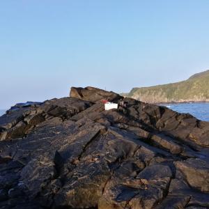 五島列島石鯛2020その2 快晴からの暴雨、大地震
