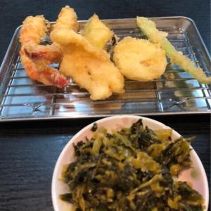 厚切り野菜が嬉しい!長尾の「天ぷら定食ながお」で博多式の揚げたて天ぷら