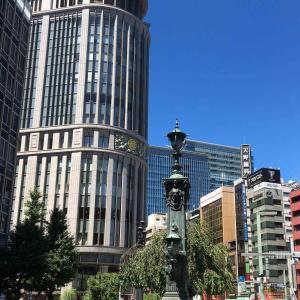 【日本橋グルメ】つばめグリルでランチして、王德傳(ワンダーチュアン)でお茶