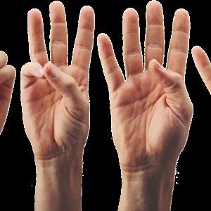 ゴルフスイングをすると右手の中指と薬指の付け根が痛い! ばね指ではなさそうですが?