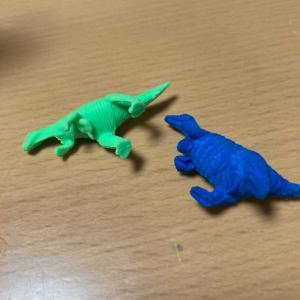 水に72時間浸しておくと6倍の大きさになる恐竜。