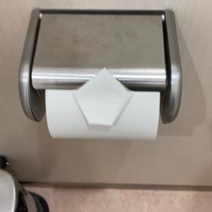 トイレ掃除完了サイン。