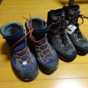 夏山シーズンイン間近 山靴を買ってしまった。