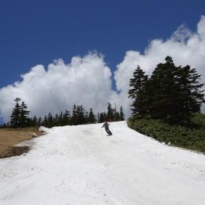 20-21シーズンラストスキーは渋峠①
