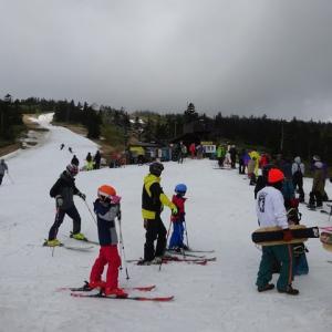 20-21シーズンラストスキーは渋峠④ 渋峠二日目はシーズンラストの日