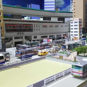 鉄道模型 都市型レイアウト制作初期