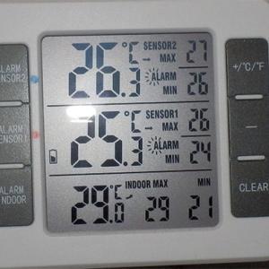 中華ワイヤレス温度計の電池を替える
