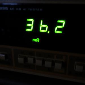 18650バッテリーの内部抵抗