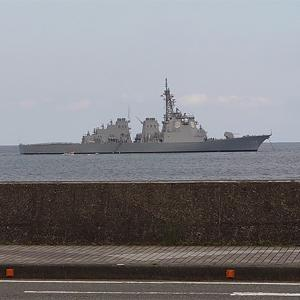 伊東から見た船