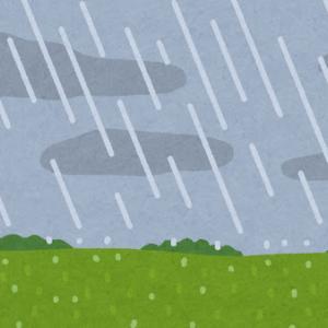 先週の大雨予報