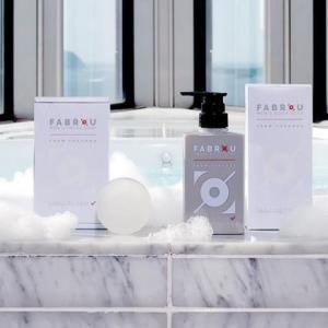 サクラン使用で保水力抜群の『FABROU』のボディソープと洗顔石鹸を使ってみた!