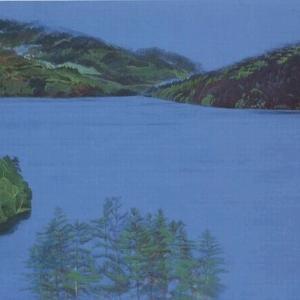 原始の湖 72.7x91.0 大野廣子 1997年 日本橋高島屋個展