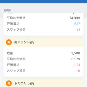 FX素人 スワップ長期投資挑戦中 No.5