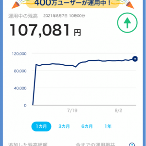 PayPayボーナス運用資産  10.7万円突破‼️ 支払いはPayPay、資産形成!