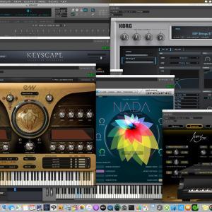 Digital Performer 10と初音ミクNTプロトタイプ