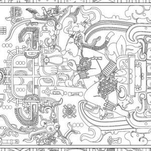【マヤ文明/宇宙とのつながり】ロケットに見えるパカル王の石棺#4