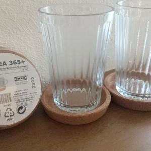 IKEAお買い物レポ * 普段使いに最高!オシャレでリーズナブルなグラスセット♪