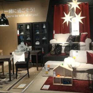 IKEAでお買い物♪冬インテリア&クリスマス満載の店内レポ